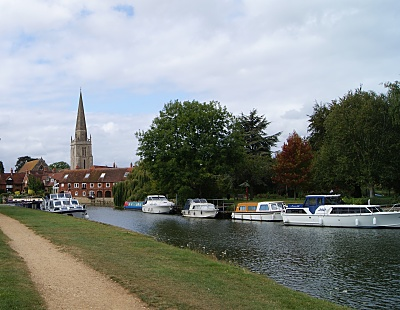 Image of The Thames at Abingdon.